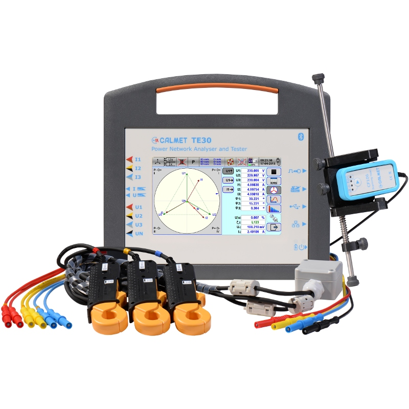 TE30 - Three-Phase Working Standard and Power Quality Analyzer