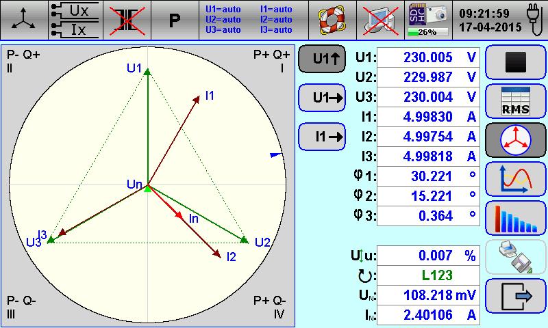 te working standard powiauml152ksz te30 tratildesup3jfazowy licznik wzorcowy wykres wektorowy vectors display function is used for