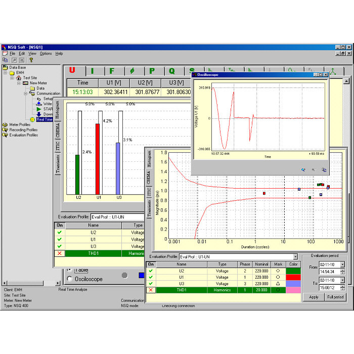 NSQ Soft - Software for NSQ400 analysers