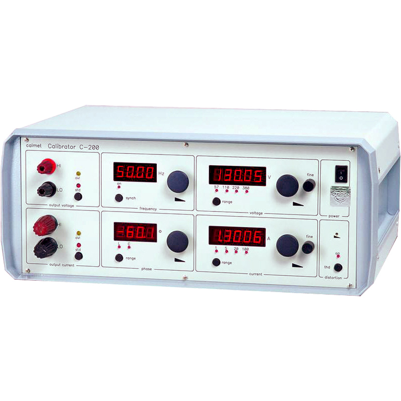 C200 - Single phase power calibrator