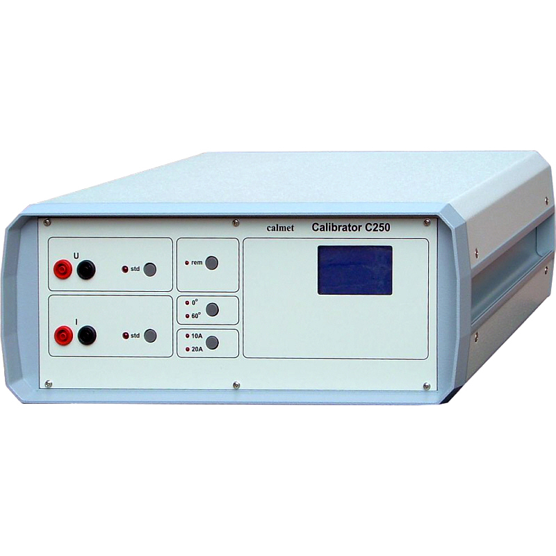 C250 - Single phase power calibrators