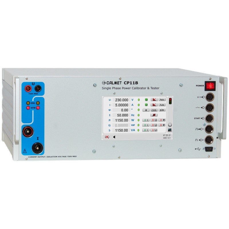 CP11B - Power calibrator and protection relay test set