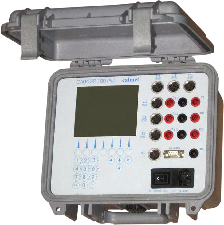 Calport 100 Plus - Instrument transformers tester
