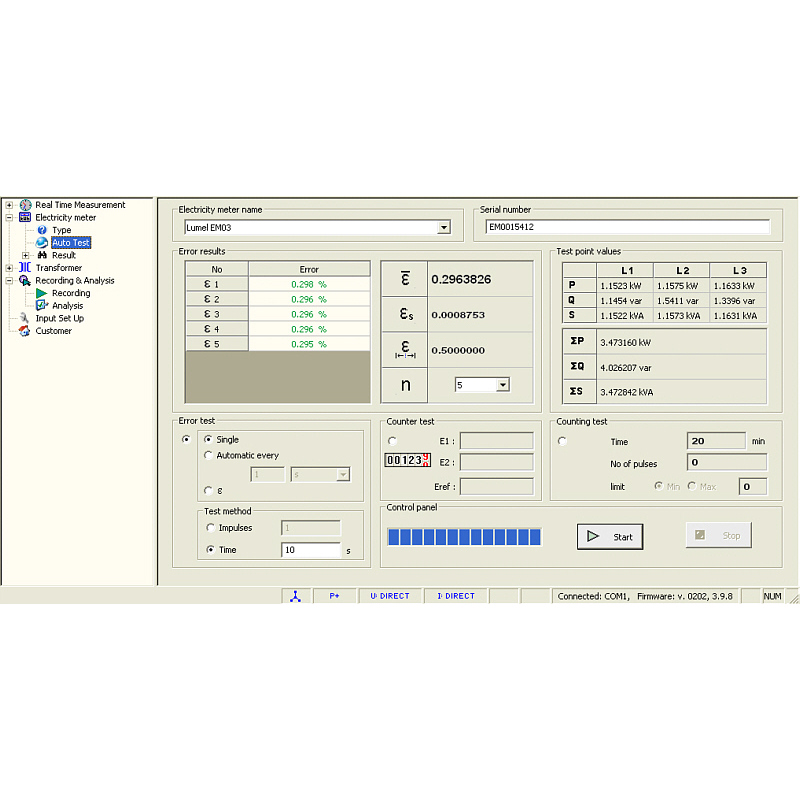Calsoft 300 - Software for Caltest 300 analyser