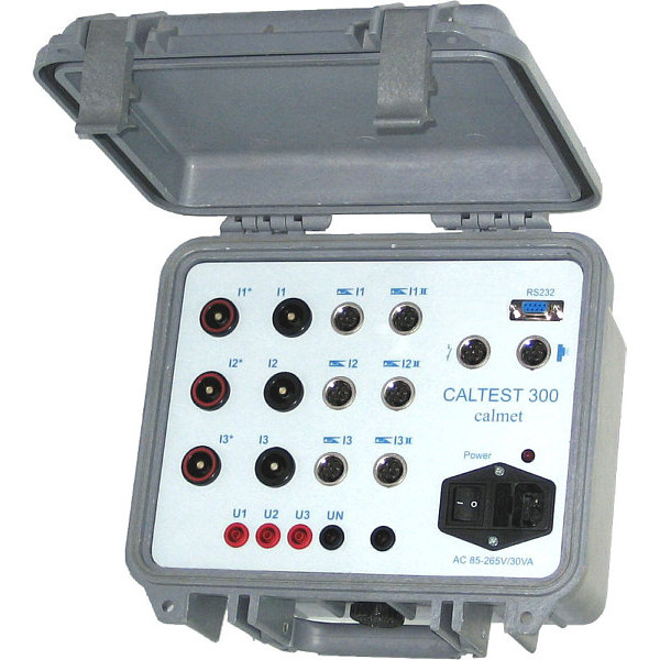 Caltest 300 - Power network quality analyser