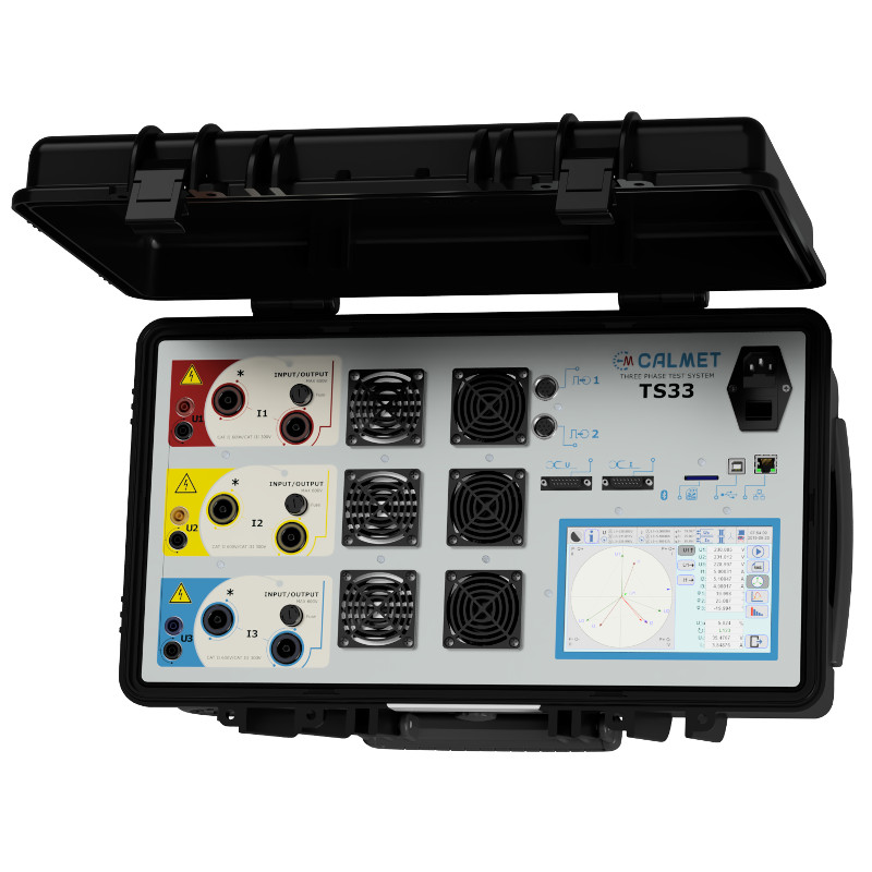 TS33 -Three-phase Fully Automatic Test System with Reference Standard and Integrated Current and Voltage Source