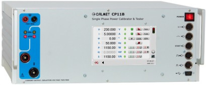 CP11B - Single phase power and energy calibrator, tester and protection relay test set